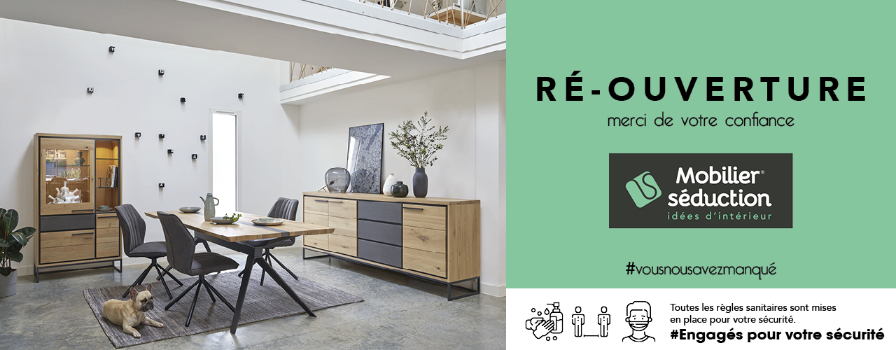 [MOBILIER SEDUCTION] Réouverture